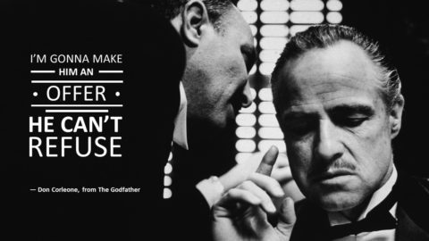 Don Corleone, Powerpoint Slide, Slide, Template