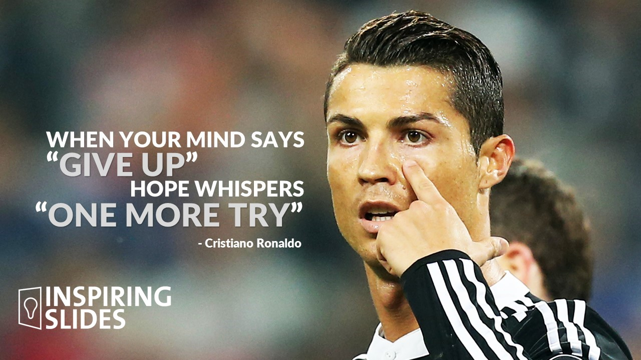 Cristiano Ronaldo - When Your Mind