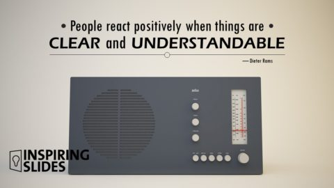 Dieter Rams, Powerpoint, Slide