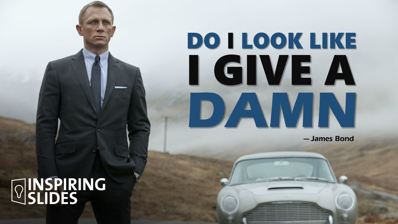 James Bond, Movie, Powerpoint, Slide