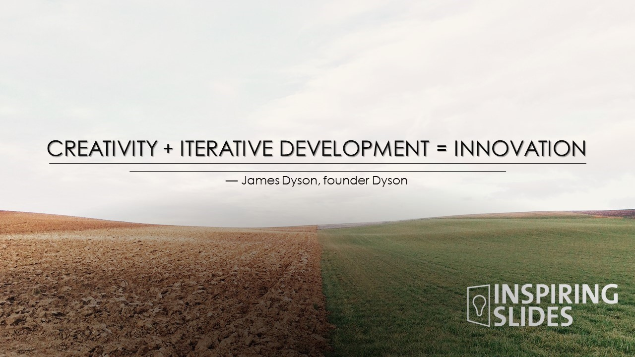 James Dyson, Innovation, Powerpoint, Slide