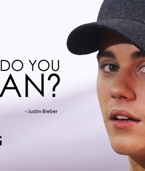 Justin Bieber_What Do You Mean