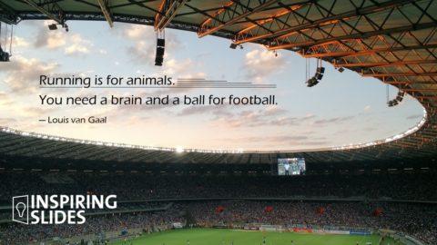Louis van Gaal, Football, Slide, Powerpoint