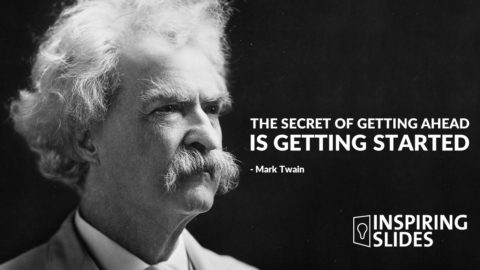 Mark Twain, Slide, Presentation, History