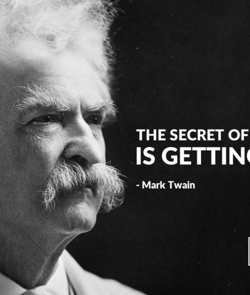 Mark Twain, Slide, Presentation, History