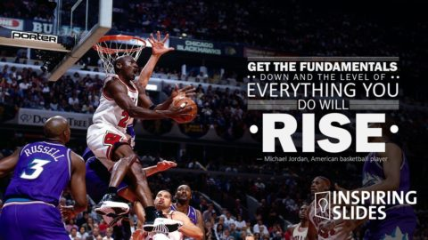 Michael Jordan, Designed Slide, Free Powerpoint Slide, Slide, Powerpoint, Template