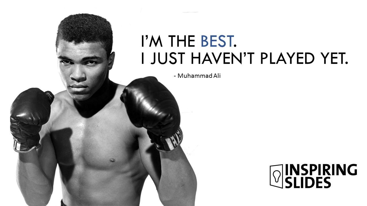 Muhammad Ali, Slide, Powerpoint, Champion, Fighter