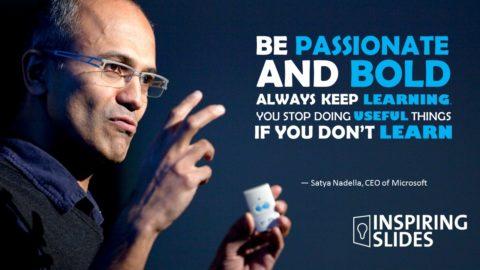 Microsoft, Powerpoint, Slide, Windows, Satya Nadella