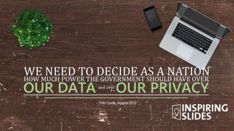 Tim Cook, Apple, Presentation, Designed Powerpoint, Presentation