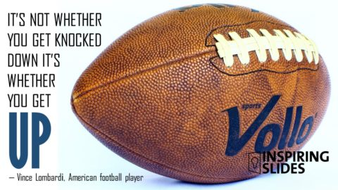 Sports, Vince Lombardi, Powerpoint, Slide