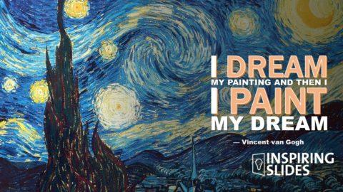 Art, Vincent van Gogh, Powerpoint, Slide