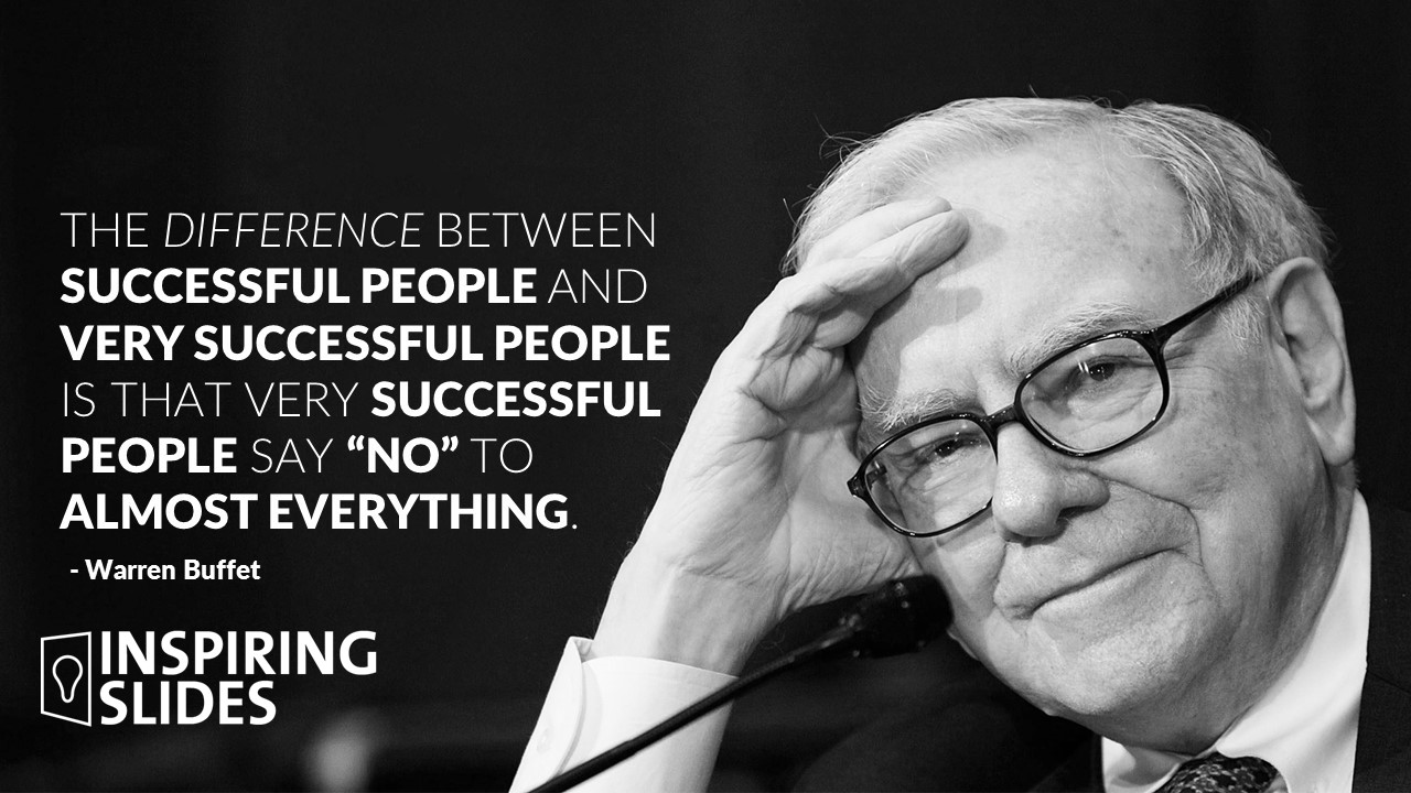 Warren Buffet, Slide, Presentation