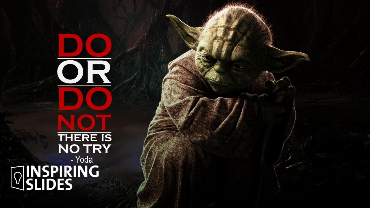 Yoda, Star Wars, Movie, Disney, Powerpoint, Slide