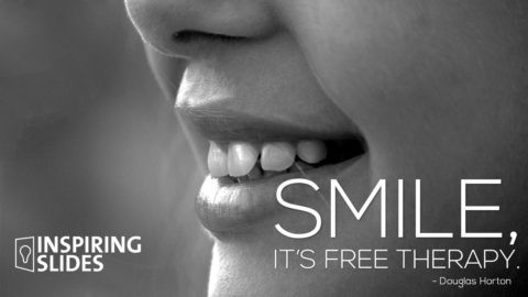 Douglas Horton_Smile, It's Free Therapy