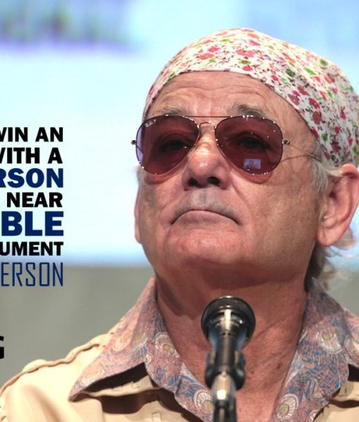 Slide, Bill Murray, Template, Free Slide, Designed Slide, Powerpoint Design