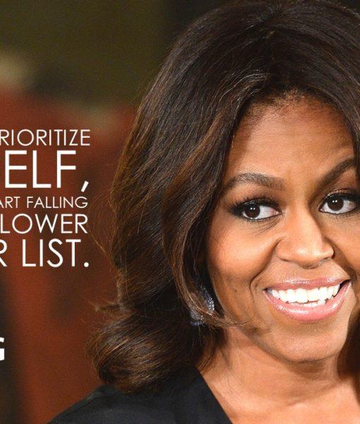 Powerpoint Slide, Michelle Obama, Animated Slide, Designed Slide, Free Slide