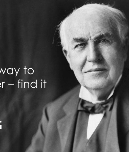 Thomas Edison, Slide, Template, Powerpoint Design