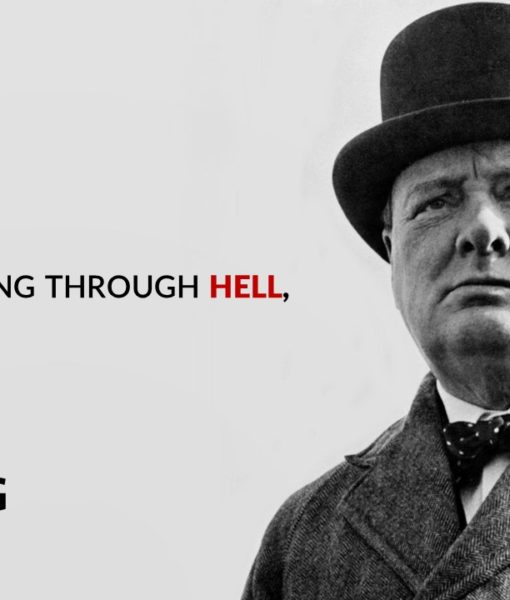 Winston Churchill, Slide, Template, Powerpoint Slide
